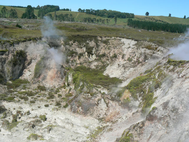 Craters Of The Moon - Taupo - Nouvelle-Zélande
